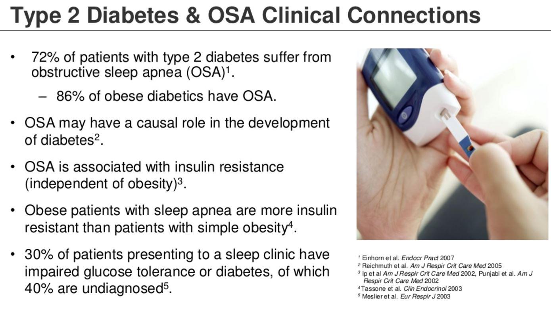 diabetes and apnea